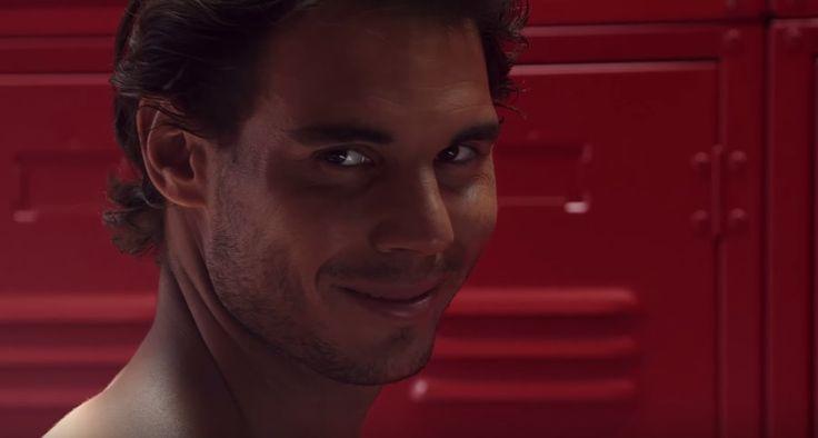 El sensual desnudo de Rafael Nadal para promocionar ropa interior