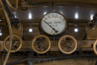How do we gauge the importance of preserving Locomotives and past creations for the education and encouragement of future generations as the past becomes the future and the future becomes the past - Another moment in creative history captured in time from LeanneCole-maldon-20130102-6096