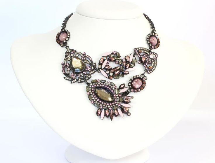 Maria Santa, acessórios, colar, rosé, maxicolar, La Vie en Rose