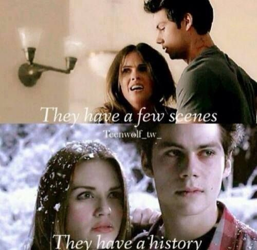 STALIA has a few scenes STYDIA has a history #TeenWolf<<< I'll always like Sterek first but after that it's Stydia. Sorry Stalia...
