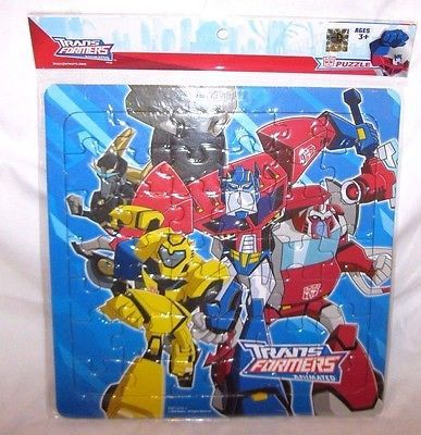 Hasbro Transformers Animated Pretend 42 Piece Puzzle (Styles may vary)-New!v6