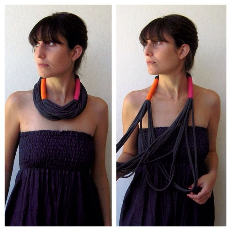 Light necklace that can be turned twice around your neck.
