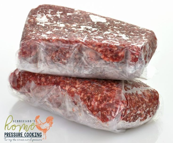 Can I cook frozen ground beef in the Instant Pot? - Home ...