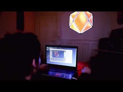 HeavyM - Ready-to-use projection mapping tool - YouTube