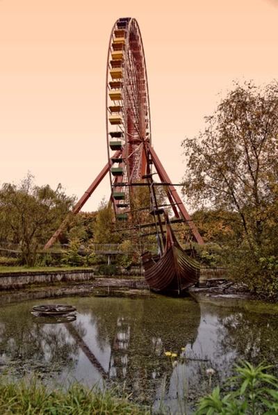 Journey through the lost and slowly decaying world of an abandoned amusement park left to receed slowly into tyhe undergrowth.    (via Bemusement Park on the Behance Network)