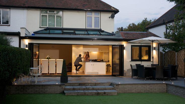 Lantern roof extension