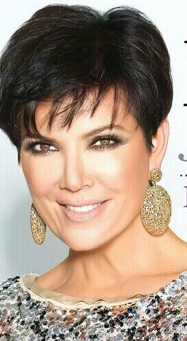 Kris Jenners Short Hair