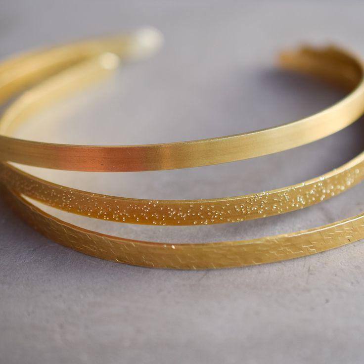Handmade brass chokers , a summer must have!