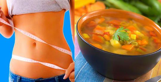 Come preparare la zuppa che brucia il grasso   Rimedio Naturale