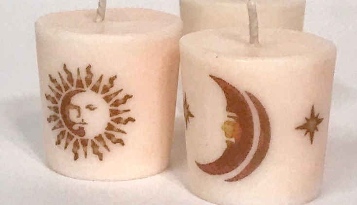 Candle Gift Set, Celestial Gifts, Novelty Gifts, Soy Candle Set, Votive Candle Set, Scented Candles, Gift Set Candle, Sun Moon Stars by messagecandle on Etsy https://www.etsy.com/listing/555932139/candle-gift-set-celestial-gifts-novelty
