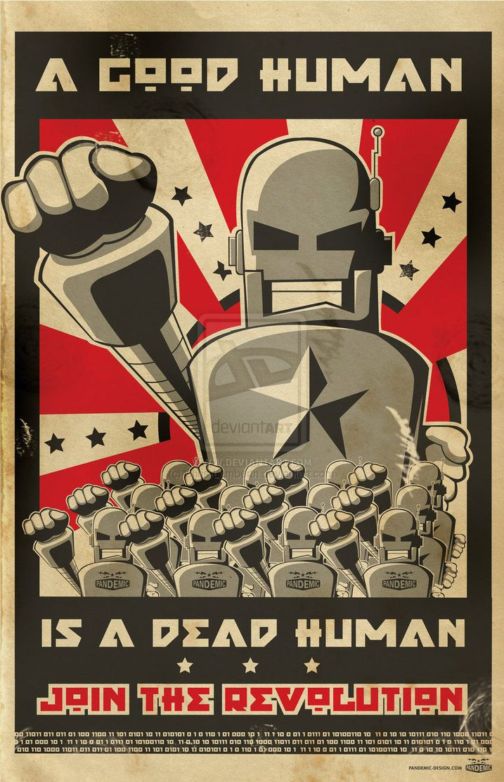 robot posters - Google Search