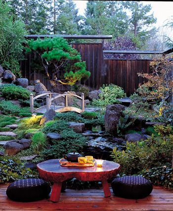 Japanese Tea Garden at Osmosis | Sonoma, Santa Rosa California. On a stressful day, just imagine you're here...and exhale...