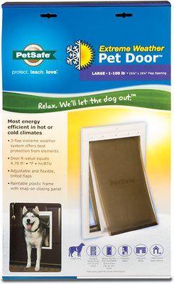 PetSafe Extreme Weather Pet Door, Medium – Chewy.com