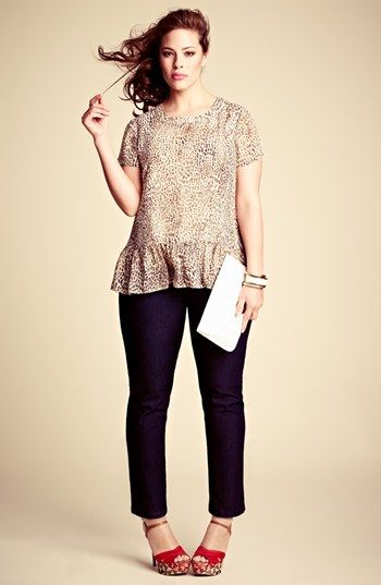Vince Camuto Blouse, NYDJ Jeans & Accessories  available at #Nordstrom