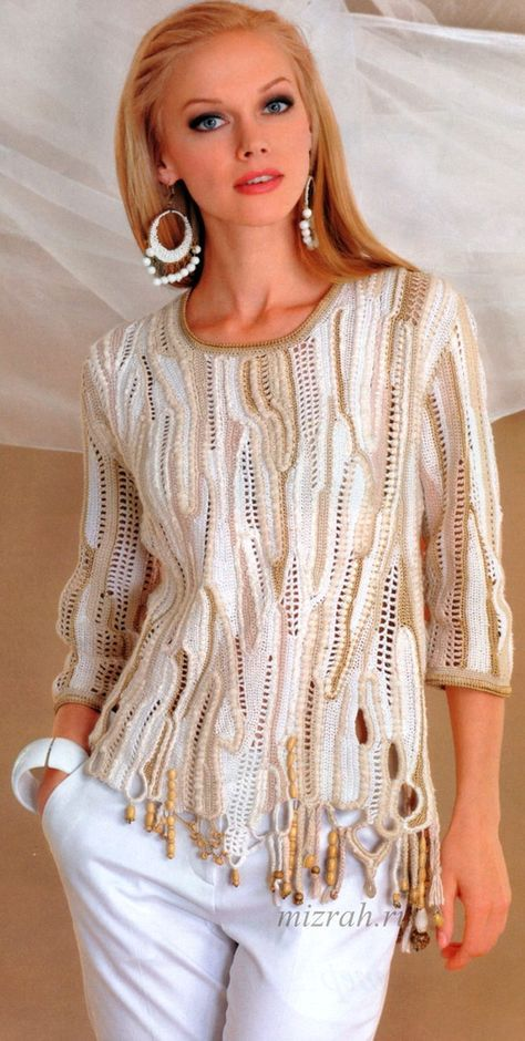 Arraso  would also be easy to convert to a cardigan