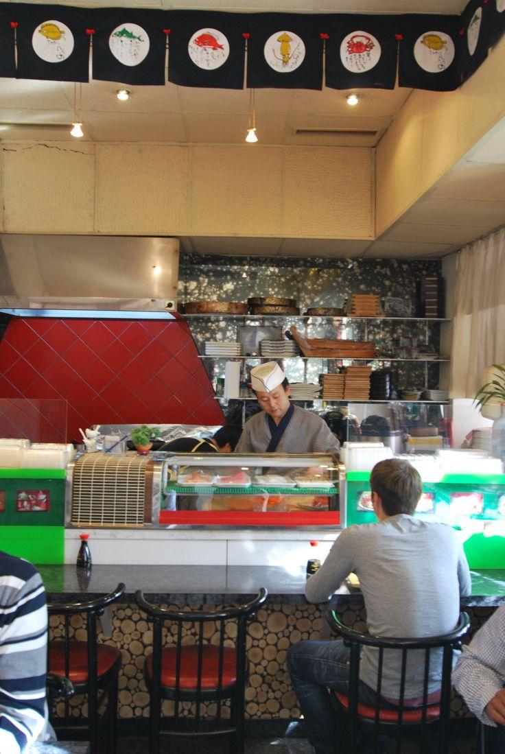 Suk Sushi U4 Kettenbrückengasse/Linke Wienzeile 22/1060 Wien Geheimtipp,  Maki-Lachs-Terriyaki-Bento für € 10,00