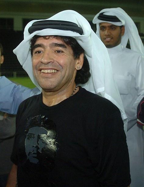 Maradona circa 2005.