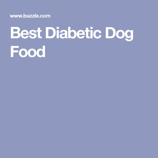 Best Diabetic Dog Food
