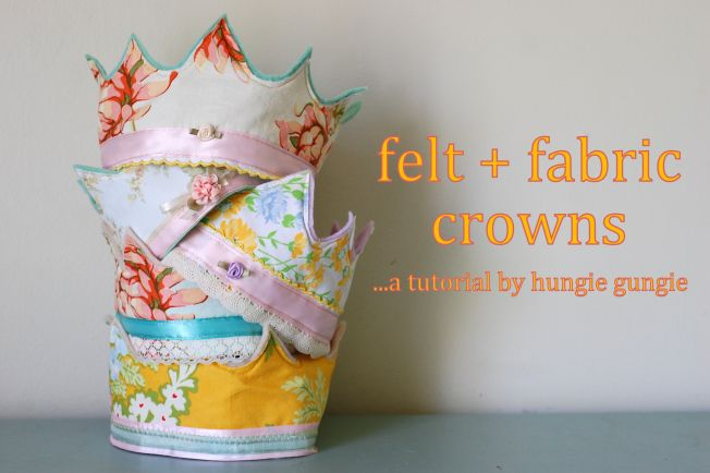 An easy tutorial with fun costume crowns - could be made for boys and girls!