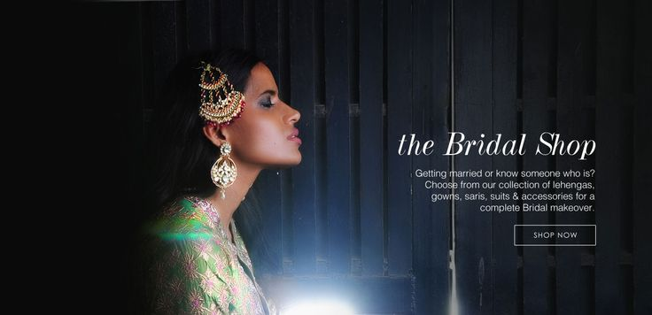 have a look for traditional Indian bridal dresses.