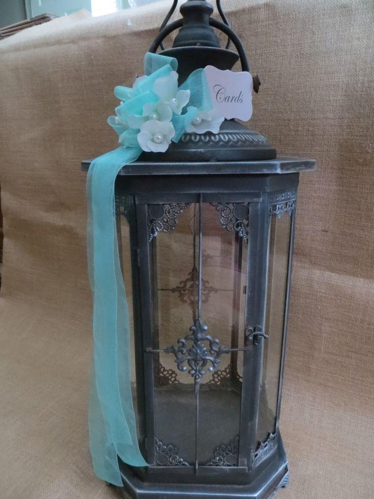 Pick your Colors Elegant Wedding Lantern Card Holder, Money Holder, Card Box, Wedding Lantern, Wedding Cash Box by TheHauteBoxBoutique on Etsy https://www.etsy.com/listing/168495966/pick-your-colors-elegant-wedding-lantern