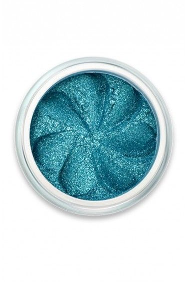 """Mineral Eyeshadow Lily Lolo """"Pixie Sparkle"""" Turquoise Blue Glitter"""