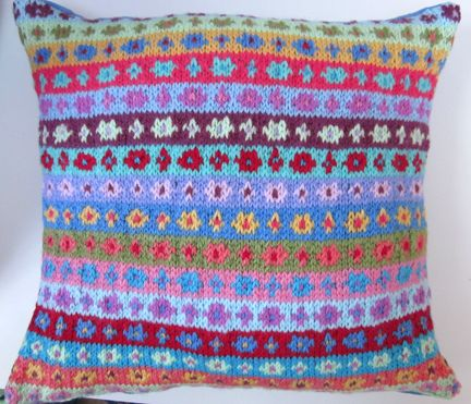 Knitting Pattern Union Jack Cushion Cover : 17 Best images about fairisle on Pinterest Reindeer, Knitting and Ravelry