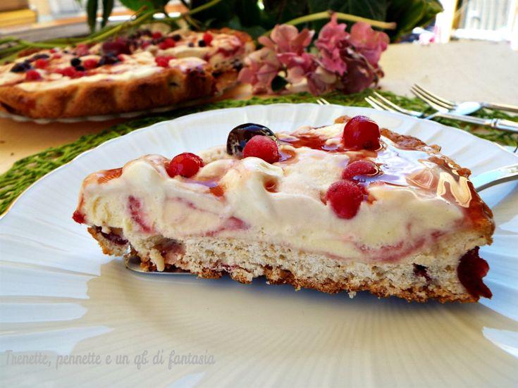Crostata di ciliegie con gelato all'amarena http://blog.giallozafferano.it/vittoria70/crostata-di-ciliegie-con-gelato-allamarena/
