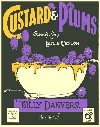 Custard & Plums - Anonymous Prints - Easyart.com