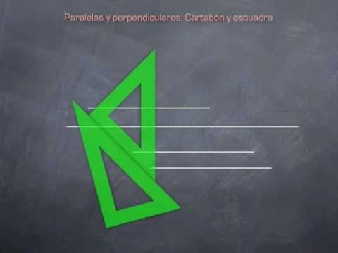 ▶ Paralelas y perpendiculares - YouTube