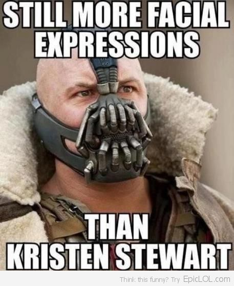HAHAH!Bane, Kristen Stewart, Funny, Batman, Tomhardy, Dark Knights, Book Jackets, True Stories, Tom Hardy