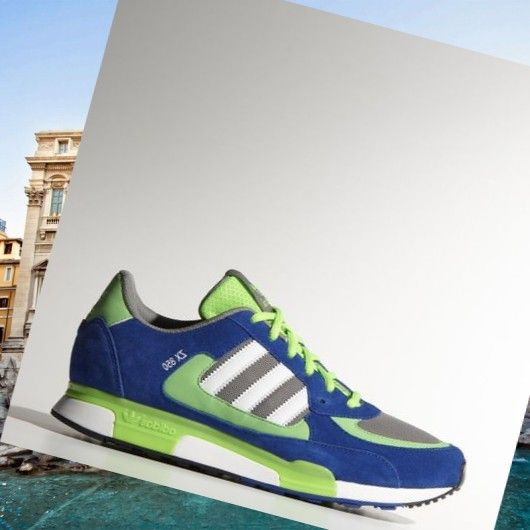 Adidas Zx 850 shoes grey/white/Green/Blue HOT SALE! HOT PRICE!