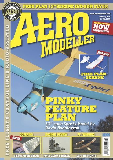 Aero Modeller #933 - February 2015