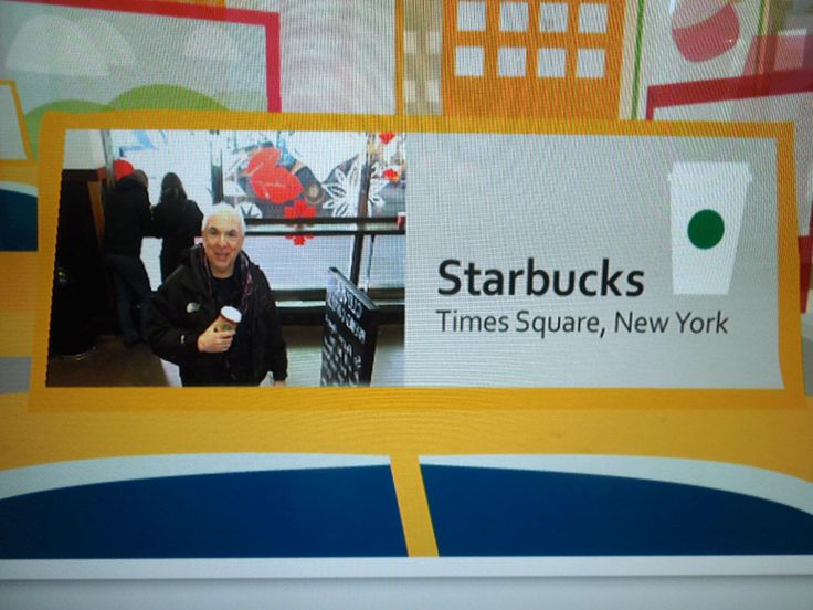 You can have your photograph taken in the Times Square Starbucks - They promised to send it to me, I'm still waiting.