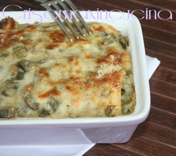 Crepes+ai+carciofi,+ricetta+golosa