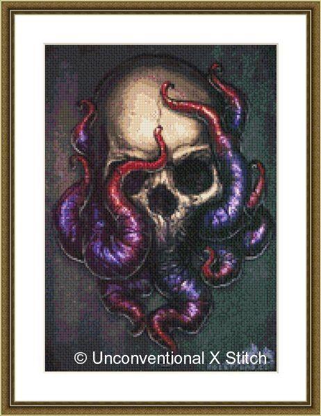 https://www.etsy.com/au/listing/183319290/deep-dark-skull-and-purple-octopus-cross?