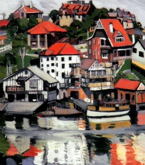 Australian artist Margaret Preston