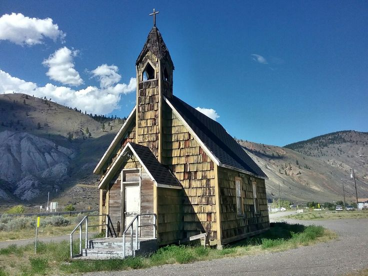 Ashcroft, bc old abonded church