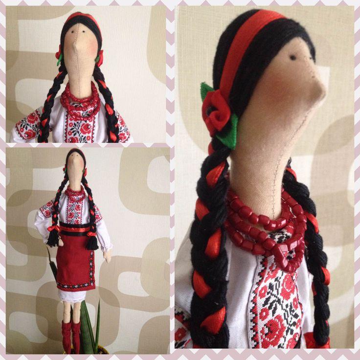 Кукла украинка сшить