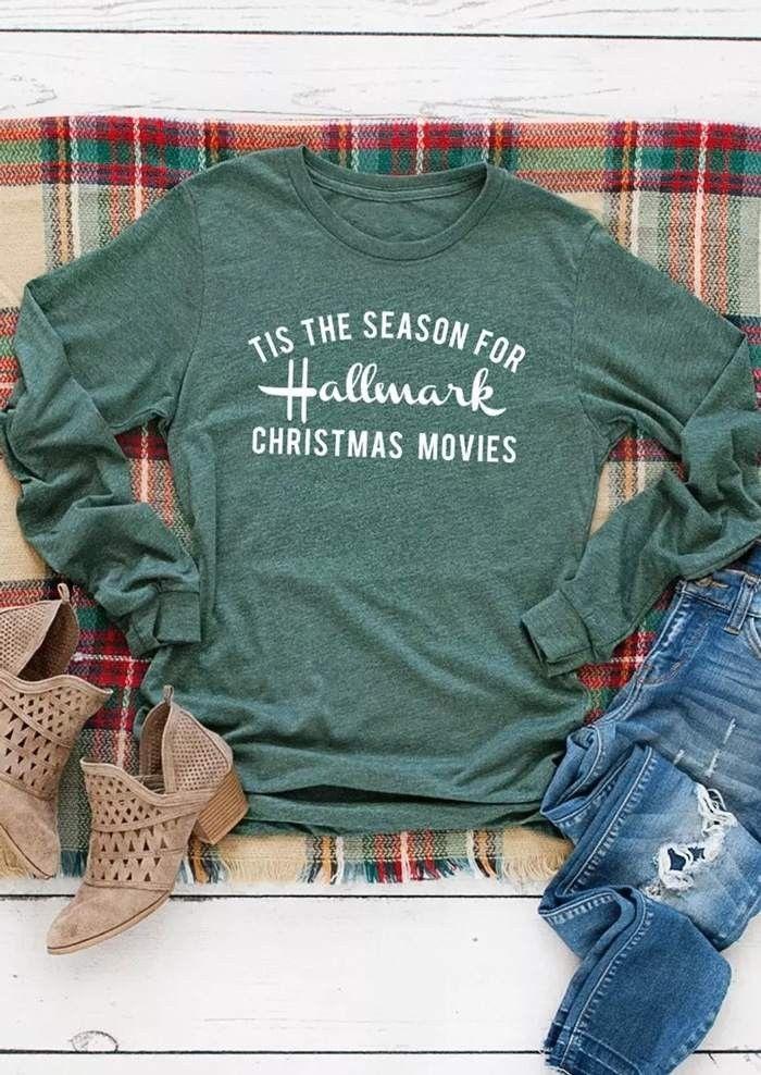 1485c7be Hallmark Christmas Movies, Graphic Sweatshirt, T Shirt, Silhouette,  Sweatshirts, Sweaters,