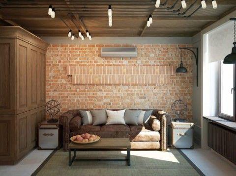 Крутой дизайн маленькой квартирки для современной семьи