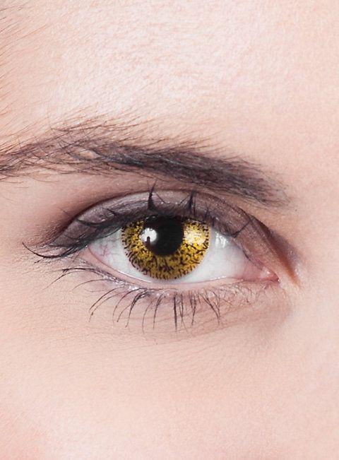 Goldene Kontaktlinsen  #contactlenses #cosplay  #halloween #sfx #larp #gold