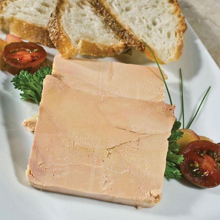 Comment Faire Le Foie Gras #15: Duck Foie Gras - Micuit / Ready To Eat, Terrine, By Rougie