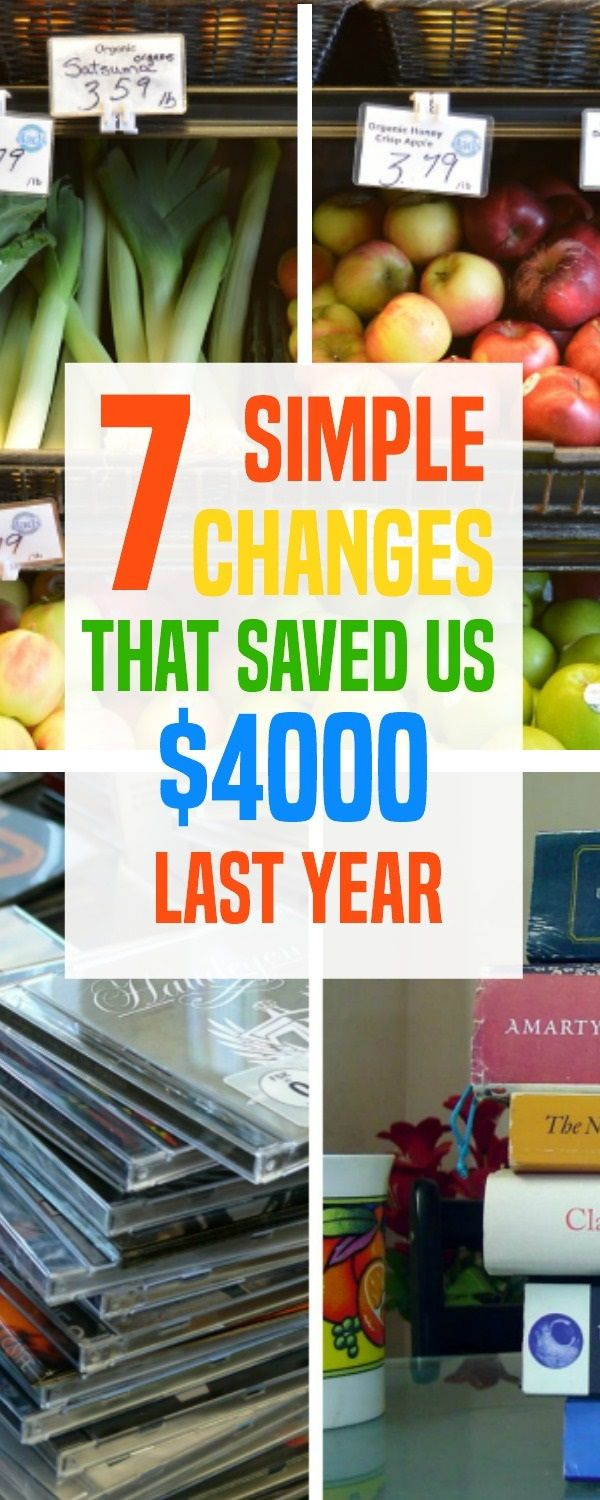 According to Dave Ramsey, saving money is dependent mostly on your habits. Here are 7 ways we've been able to save money. Our total was over $4000 last year.