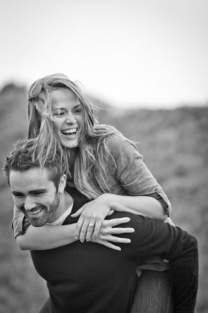 Engagement Picture Idea. Pictures that capture personality :)