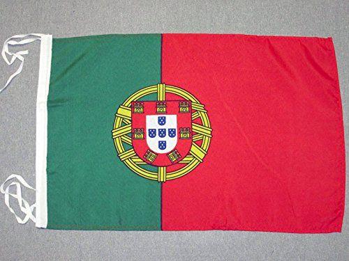 PORTUGAL FLAG 18'' x 12'' cords - PORTUGUESE SMALL FLAGS ...