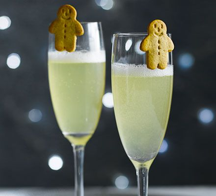 Capture all the flavours of the classic Christmas ginger biscuit in this simple Prosecco cocktail you can make in minutes - ideal for fuss-free festive entertaining