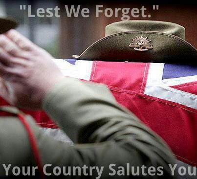 R I P ALL AUSSIE AND KIWI DIGGERS