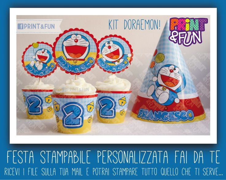 Doraemon party - printables.