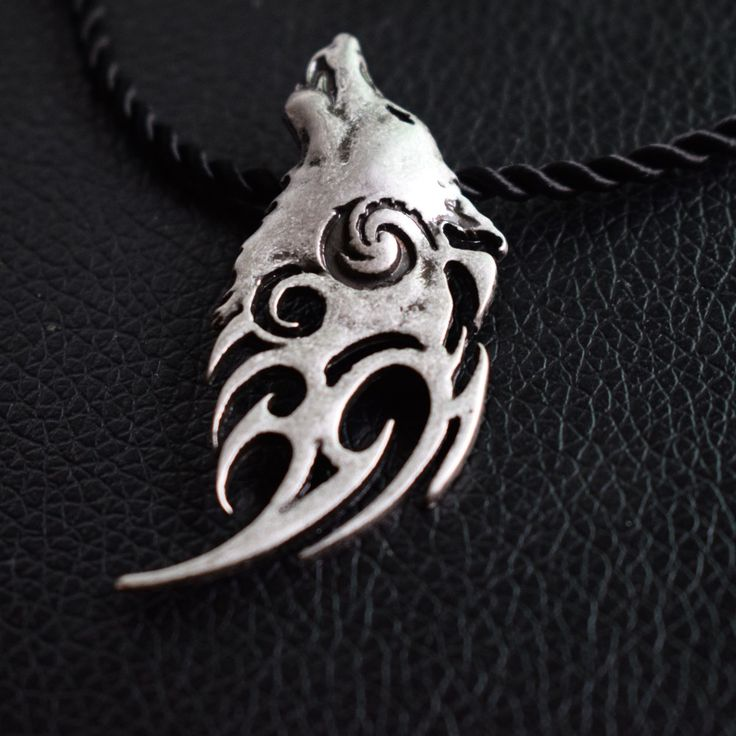 new design howling wolf pendant viking wolf men necklace celt necklace sanlan jewelry